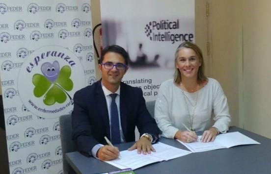 Political Intelligence y FEDER colaborarán en la defensa de los derechos de las personas con enfermedades raras