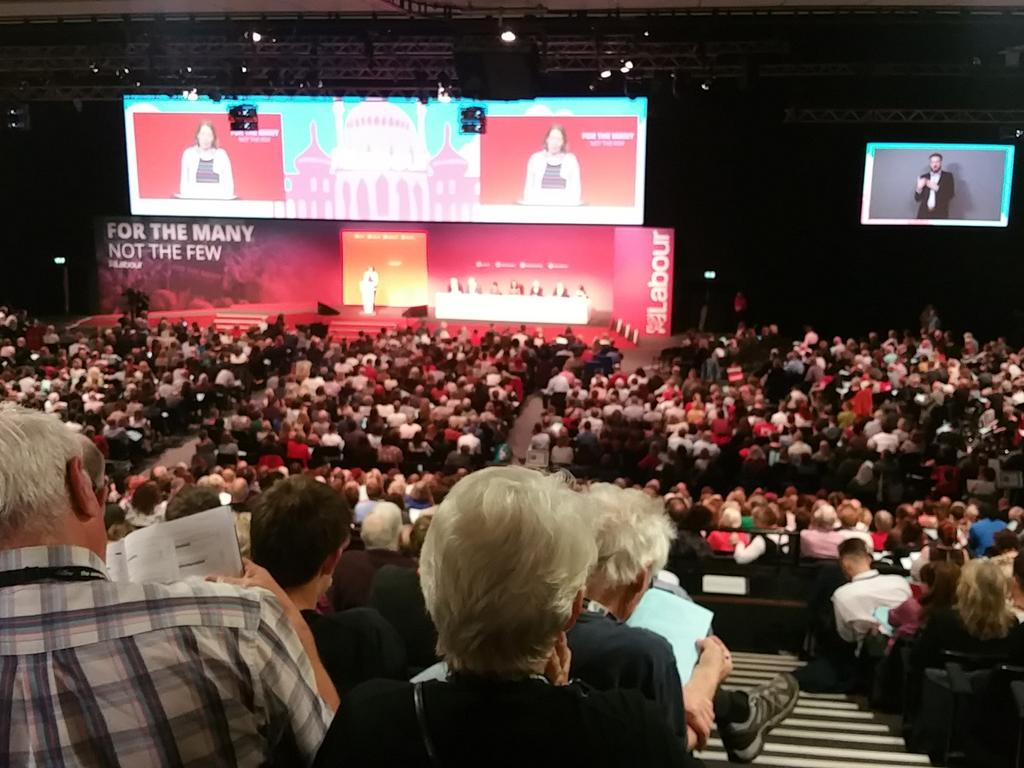 Labour Conference Update