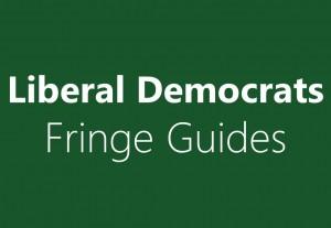Lib dem Fringe Guide
