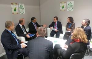 Saavedra en COP21