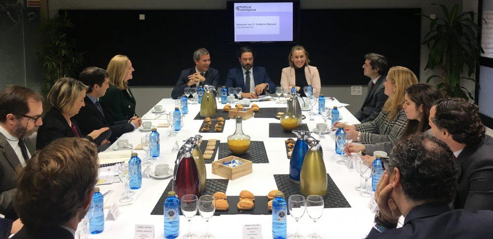 El Portavoz de Energía del Grupo Popular en el Congreso aborda los retos energéticos en los Desayunos de Political Intelligence