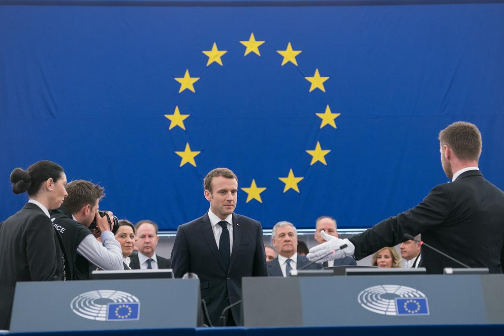 Macron, En Marche pour l'Europe ?