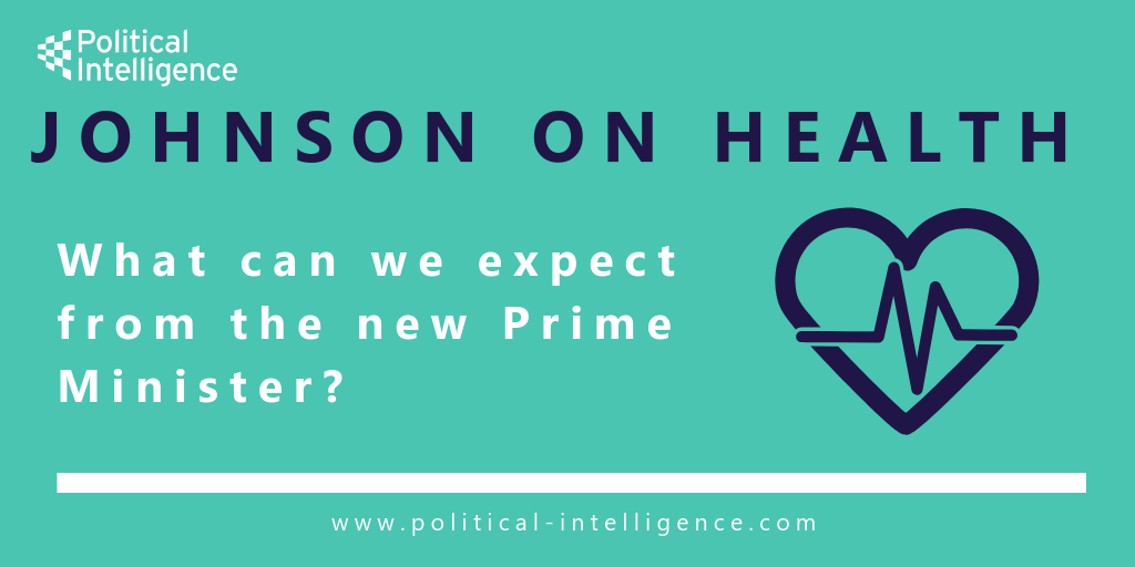 Johnson on healthcare: what can we expect from the new Prime Minister?